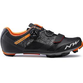 Northwave Razer Shoes Men black/forrest/orange